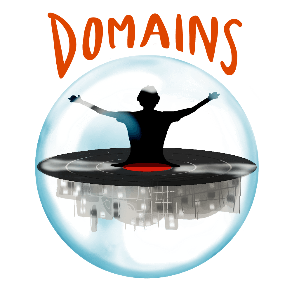 Domains logo simple