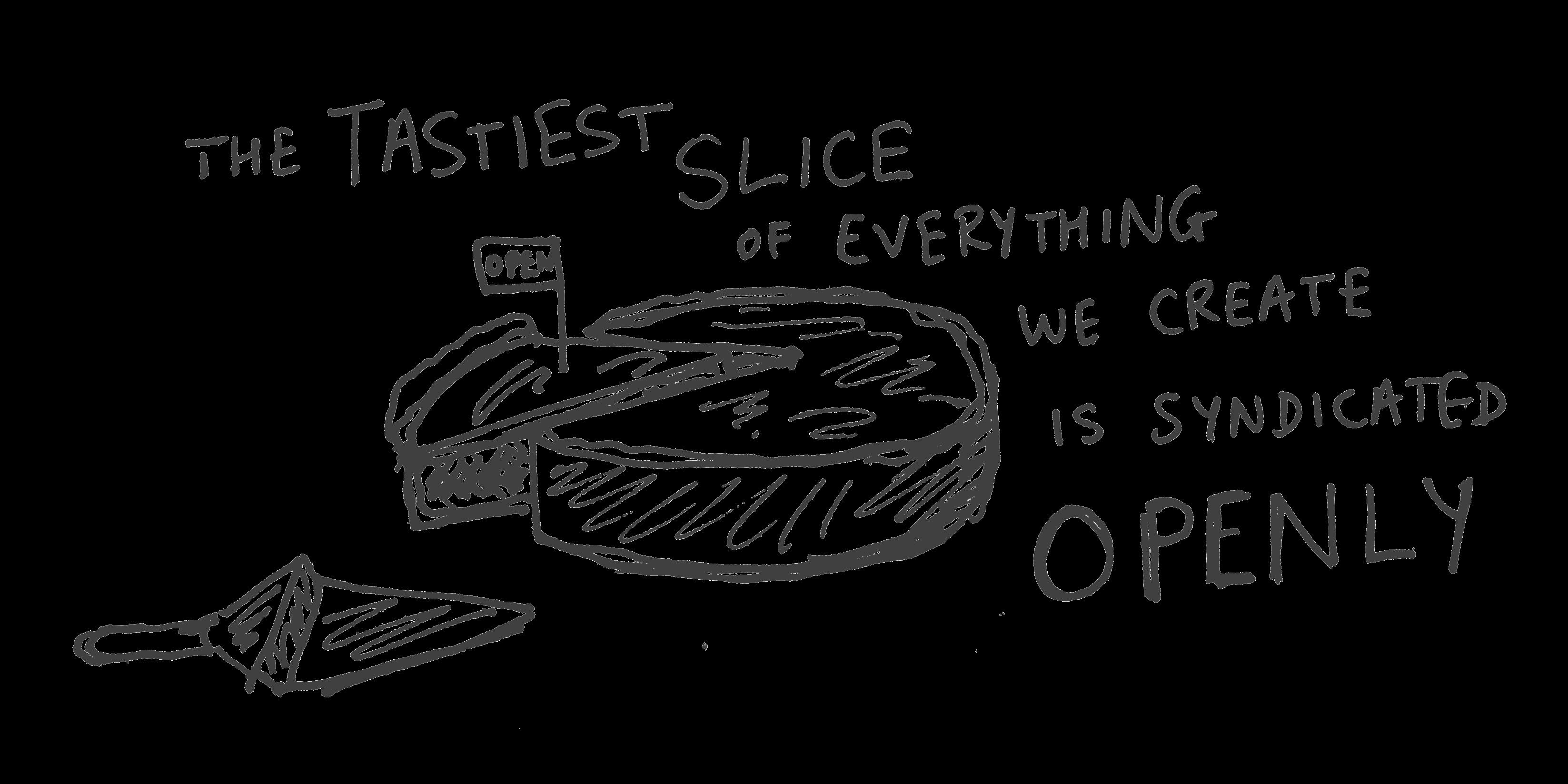 The tastiest slice...