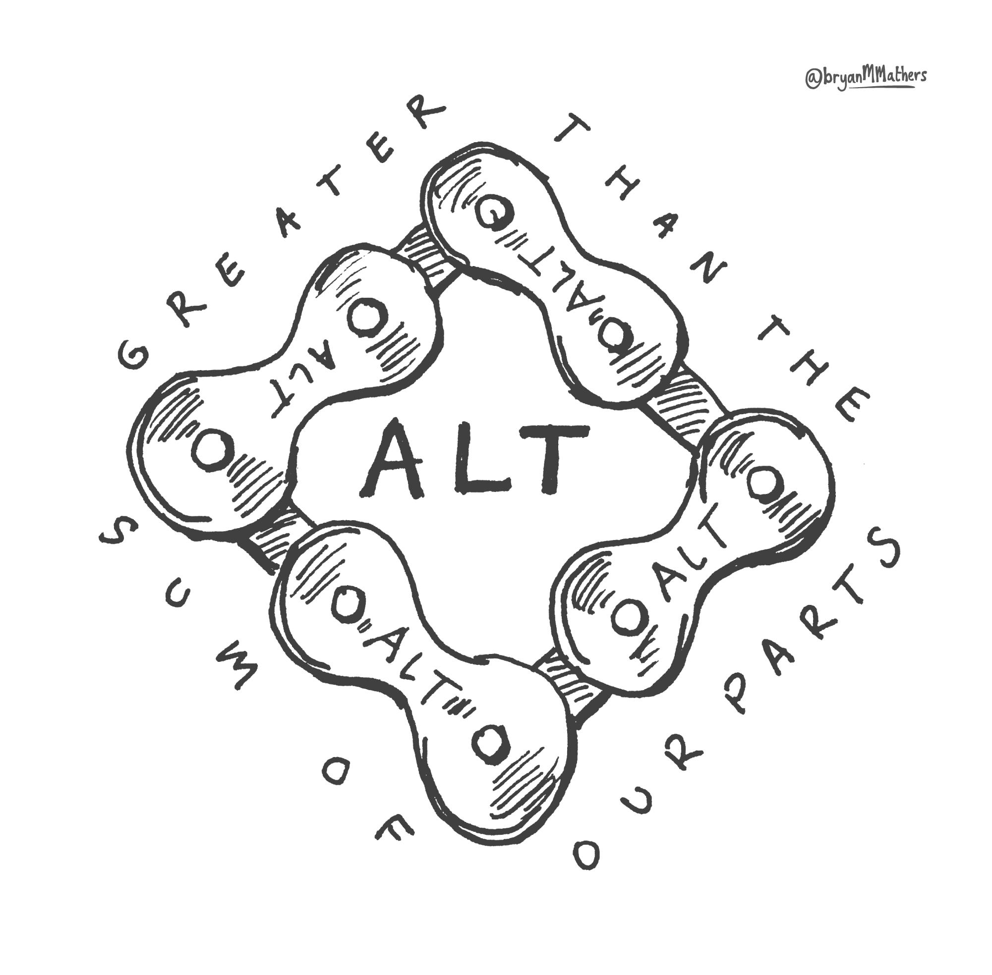 ALT Bikechain - sketch