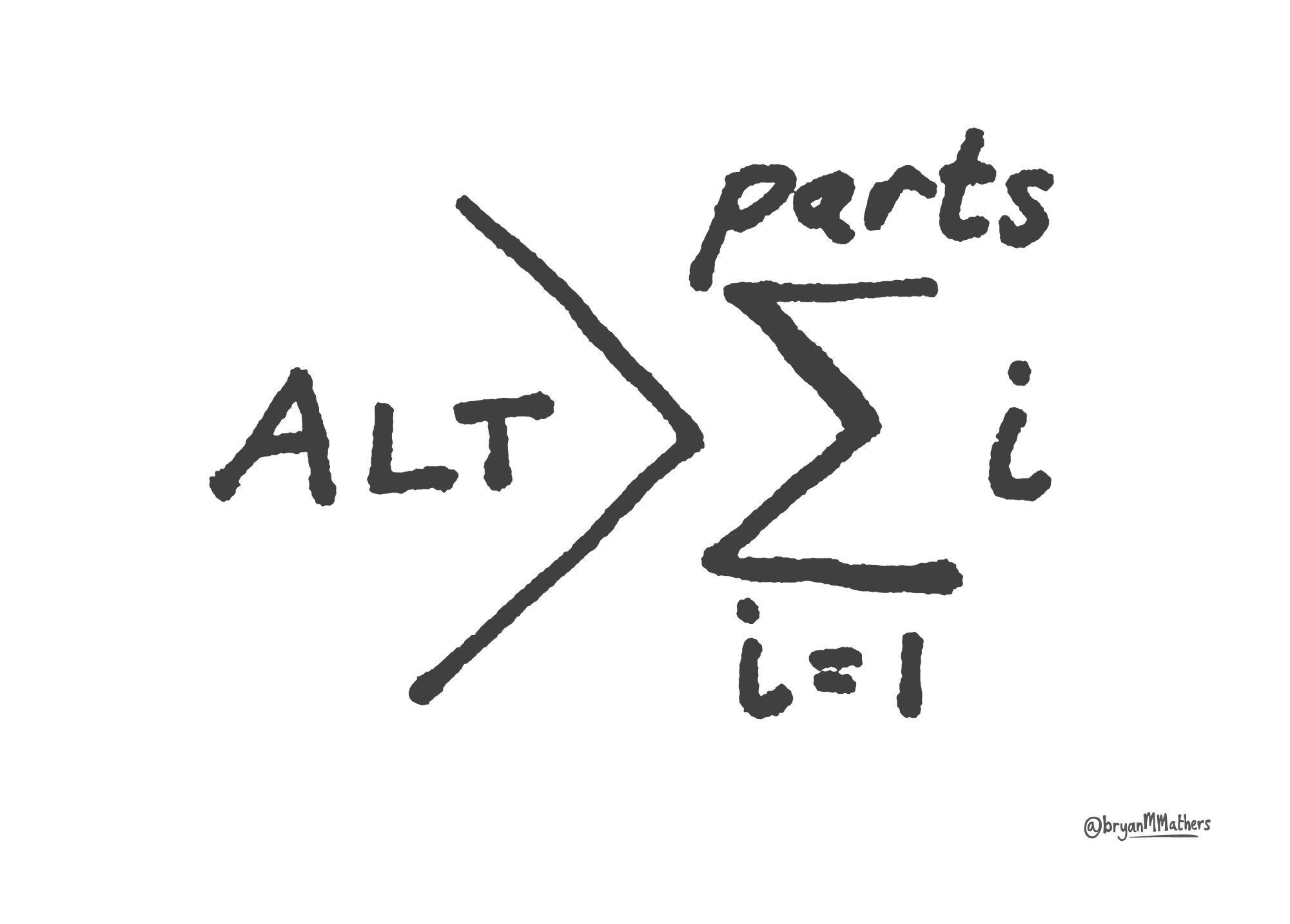 ALT Greater than - sketch