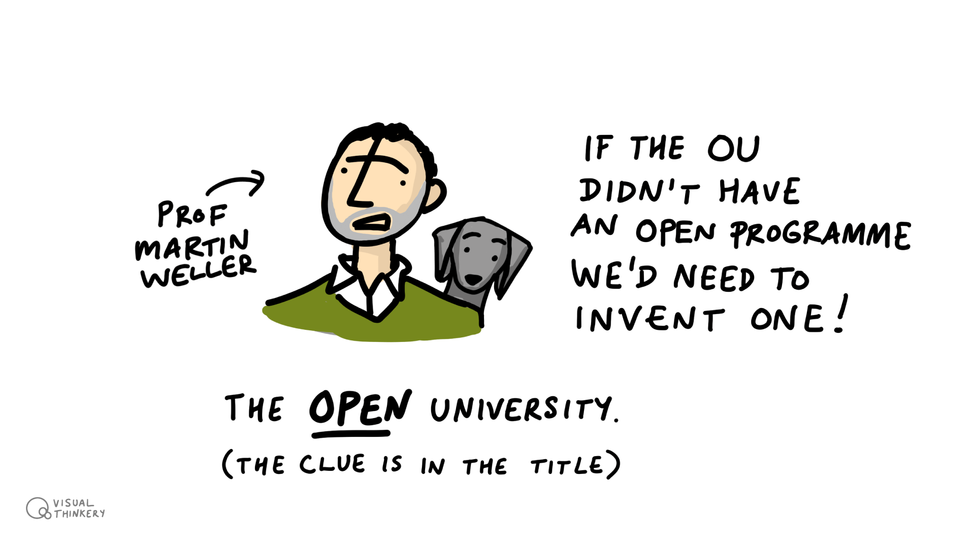 OU Open Degree - The clue is in the title