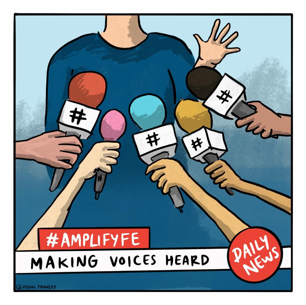 Amplify FE social logo