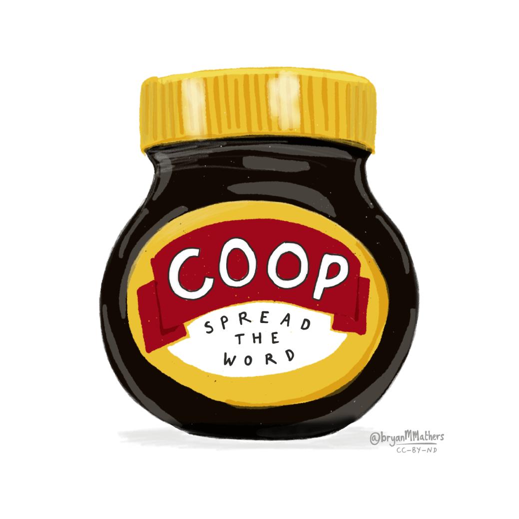 Co-op - spread the word