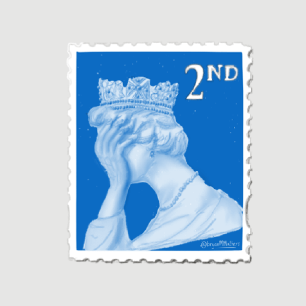 Facepalm brexit stamp