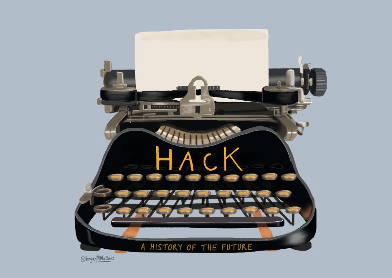 Hack Education Typewriter Logo