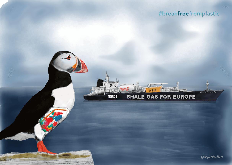 Fracking Activism (Break Free From Plastic)