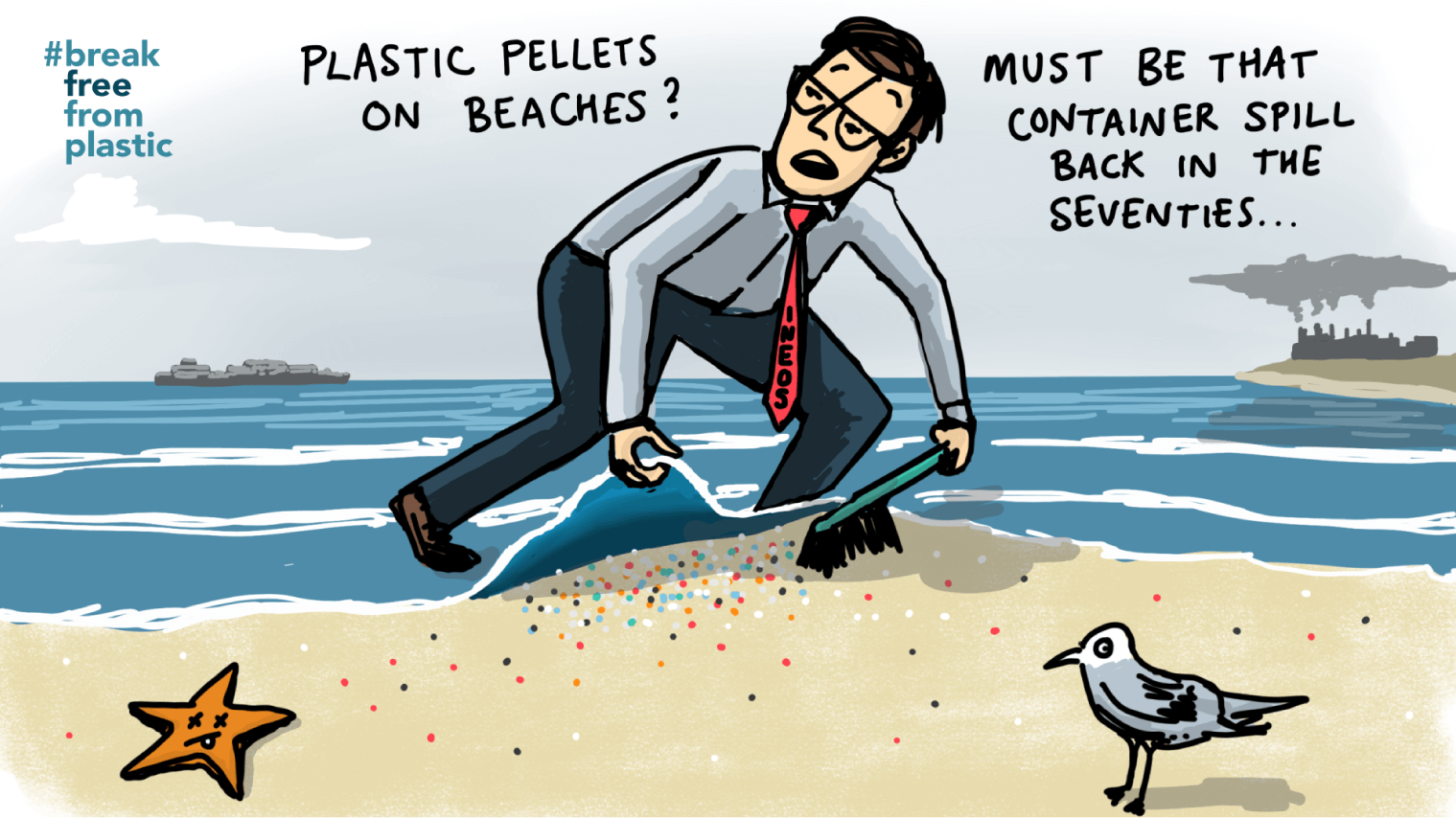 BFFP - Plastic Pellets on Beaches